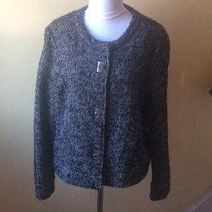 Michael Kors wool blend blazer jacket